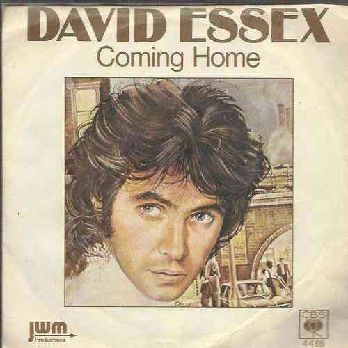 VINYL 45 T david essex coming home  1976