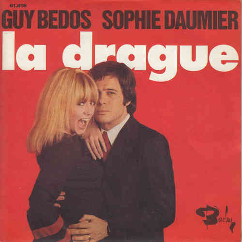 VINYL45T Guy bedos Sophie daumier la drague 1973