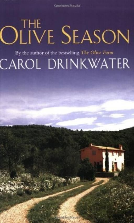 LIVRE Carol Drinkwater the olive season