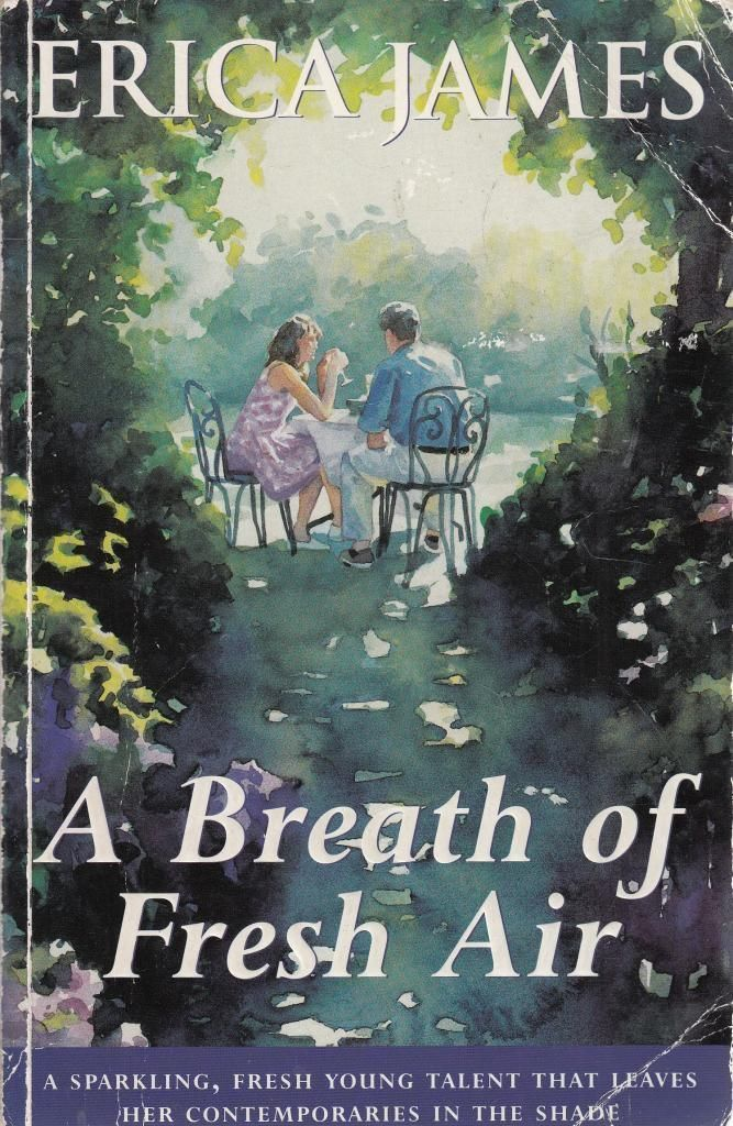 LIVRE Erica James A breath of fresh air
