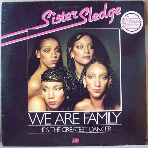 VINYL maxi 45 t sister sledge we are family 1978
