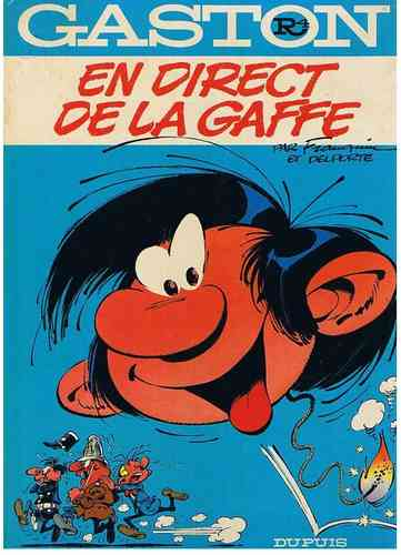 BD Gaston en direct de la gaffe 1977