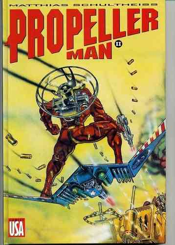 BD propeller man ll comics usa EO 1994