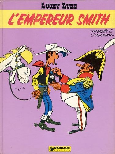 BD Lucky Luke l'empereur smith Dargaud EO 1976