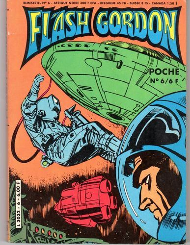 BD flash gordon poche N°6 bimestriel