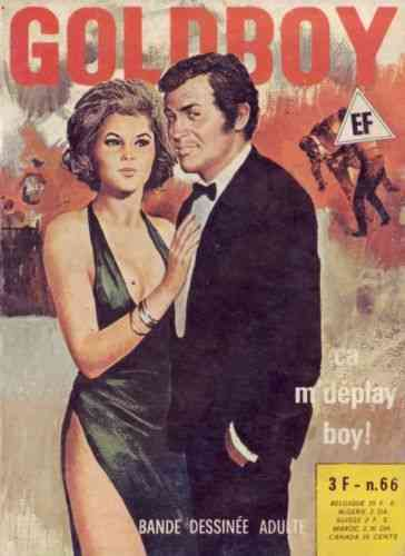 BD Goldboy N°66 ca m'deplay boy Elvifrance 1977