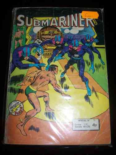 BD submariner mensuel n°12 marvel 1978