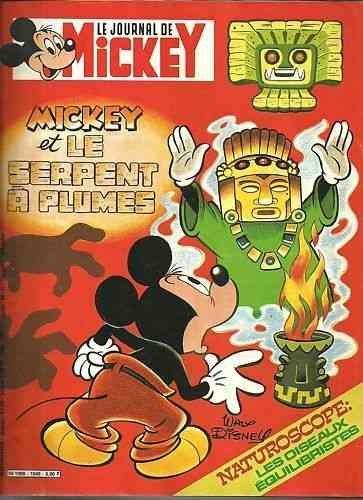 BD le journal de mickey n°1549-1982