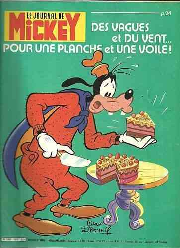 BD le journal de Mickey n°1512-1981