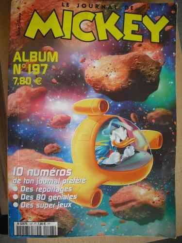 BD le journal de Mickey album n°197-2002