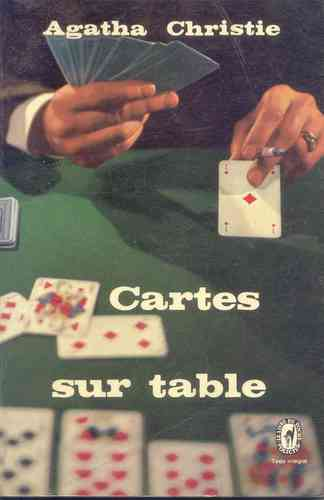 LIVRE Agatha christie cartes sur table n 1999