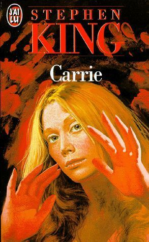 LIVRE Stephen King  Carrie
