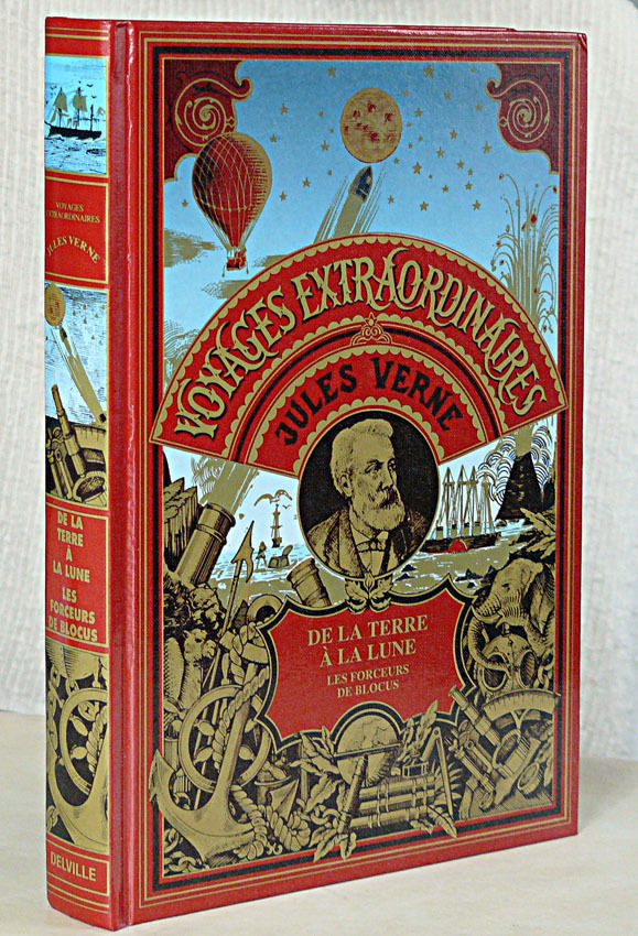 Livre Jules Verne Voyages Extraordinaire