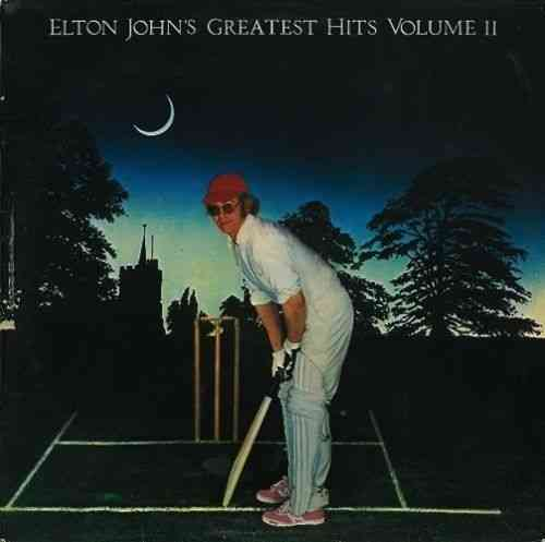 VINYL33T elton john greatest hits II 1977
