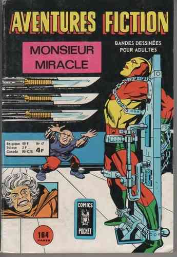 BD aventures fiction N°47 monsieur miracle overlord 1975