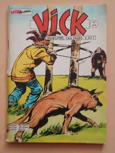 BD Vick N°34  rock vanguard 1975