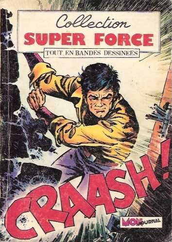 BD collection super force N°1 1980