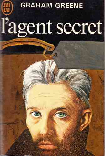 LIVRE Graham Greene l'agent secret 1968 j'ai lu N°55