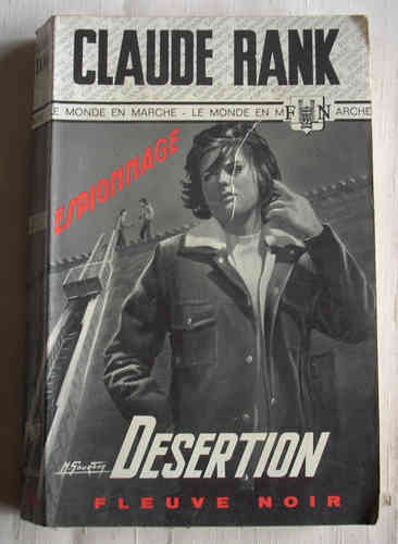 LIVRE claude rank désertion FN 755 1969