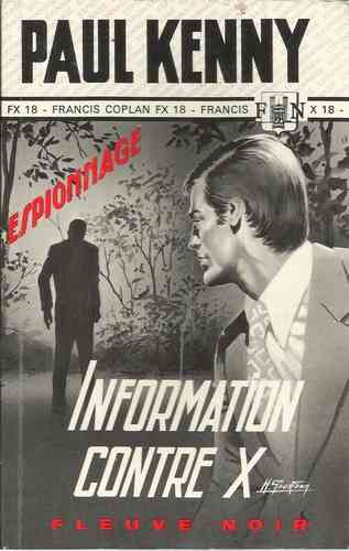 LIVRE Paul Kenny information contre X 1972 FN 114