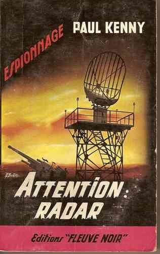 LIVRE paul kenny attention radar 1964 FN N°88