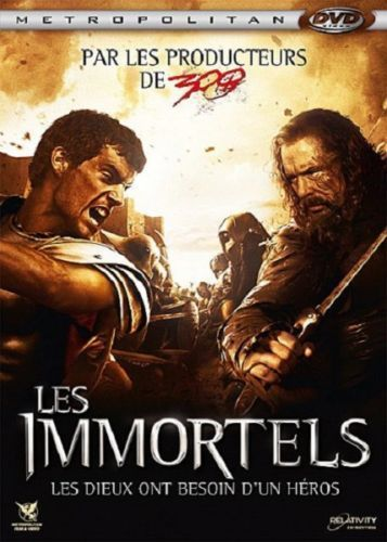 DVD Les immortels