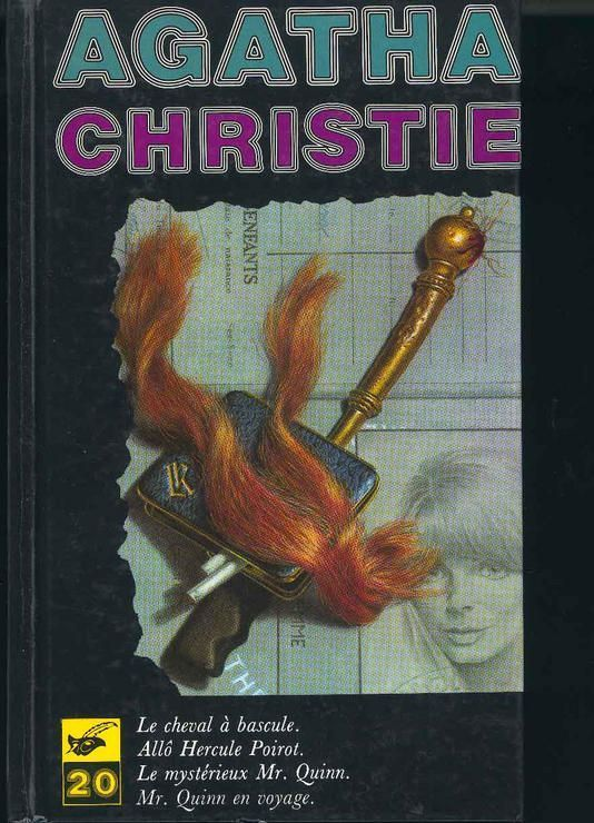 livre agatha christie le cheval a bascule n 20 livre policier. Black Bedroom Furniture Sets. Home Design Ideas