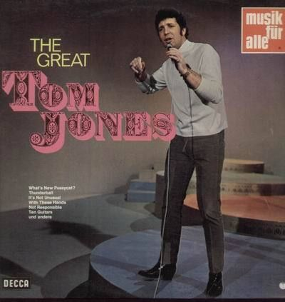 VINYL 33 T tom jones help the great DECCA