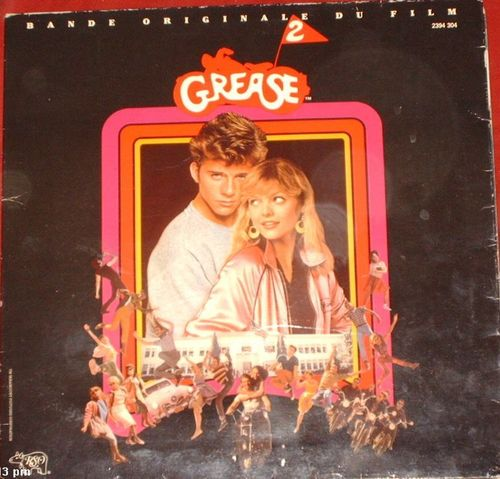 VINYL33T bo grease 2 1982