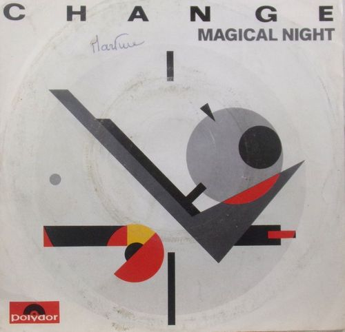 VINYL MAXI 45T change magical night 1983