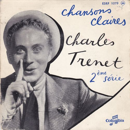 VINYL45T charles trenet chansons claires