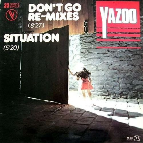 VINYL33T yazoo don't go remixes 1982