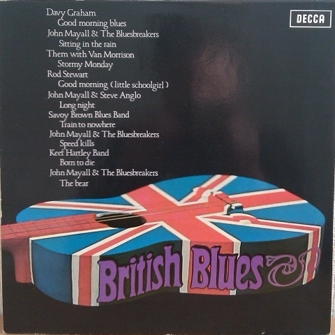 VINYL33T british blues decca hollande