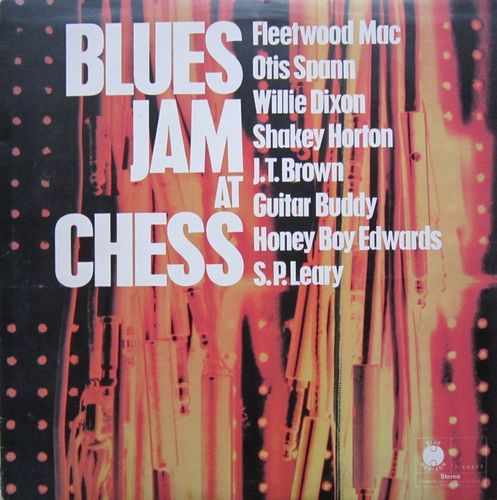 VINYL33T blues jam at chess 1969