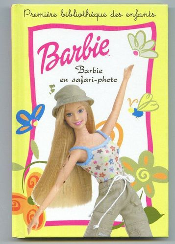 LIVRE Barbie Barbie en safari-photo 2003