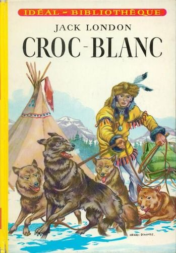 LIVRE Jack London croc blanc
