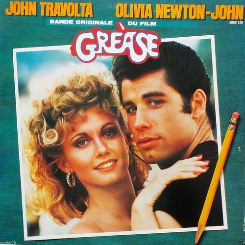VINYL33T john travolta grease 1 1978