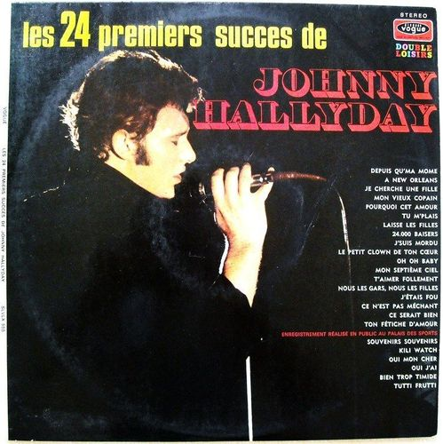 VINYL33T Johnny Hallyday les 24 plus grands succès 1971