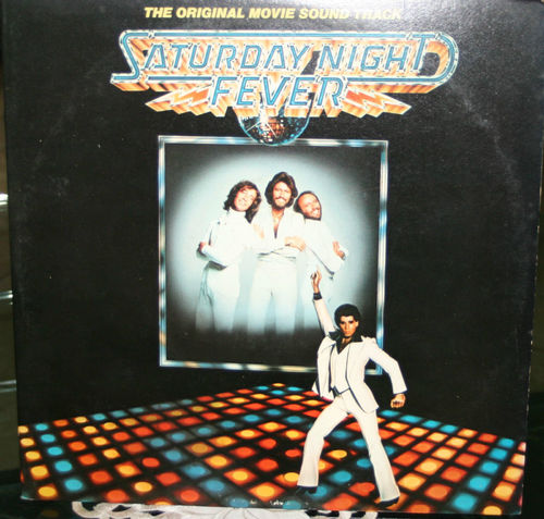 VINYL33T bo saturday night fever 1977