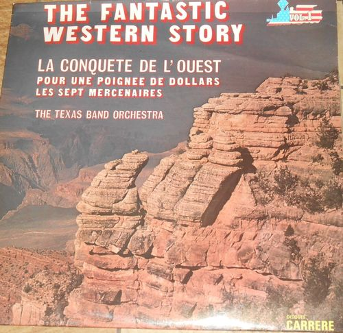 VINYL 33 T bo the fantastic western story vol 1 1978