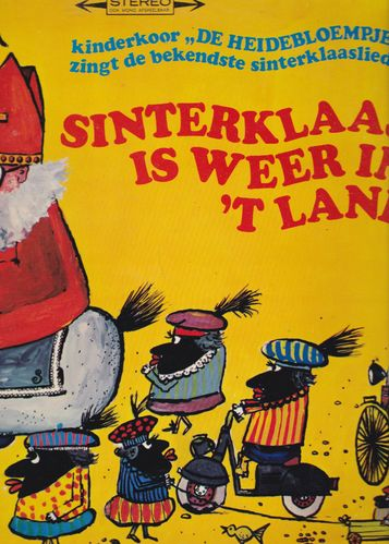 VINYL33T sinterklaas is weer in t land