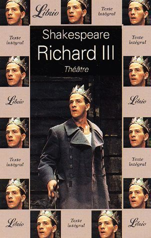 LIVRE Shakespeare Richard III Librio n°478