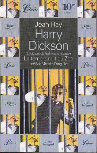 LIVRE Jean Ray harry dickson la terrible nuit du zoo Librio n°189