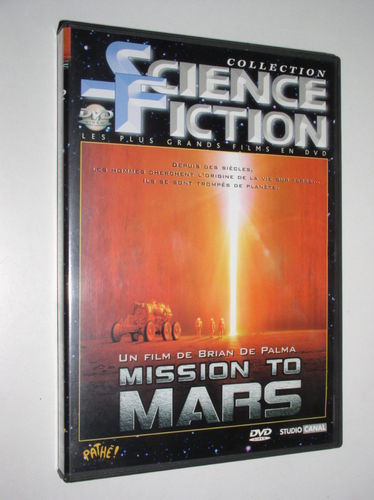 DVD mission to mars brian de palma