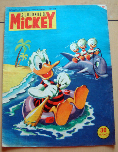 BD le journal de Mickey n°174-1955