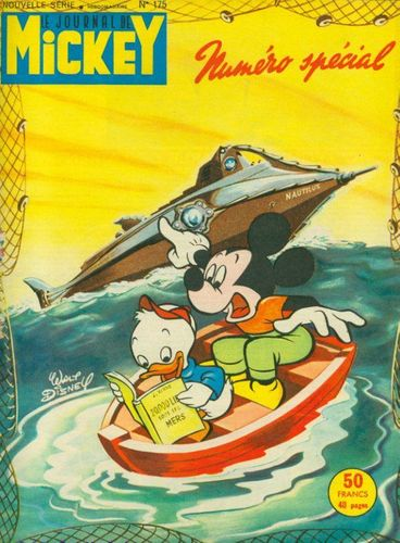 BD le journal de Mickey n°175-1955