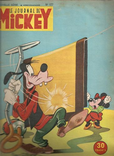 BD le journal de Mickey n°177-1955