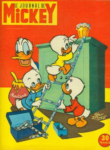 BD le journal de Mickey n°180-1955