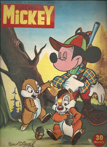 BD le journal de Mickey n°181-1955