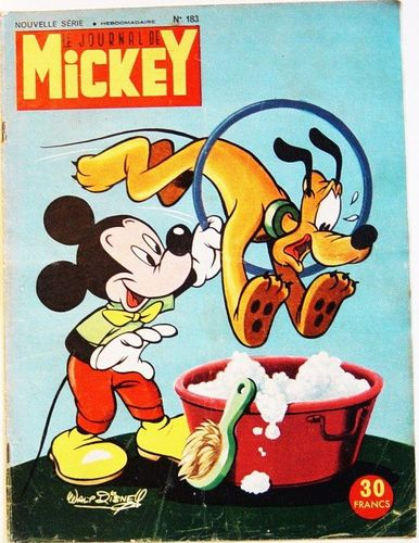 BD le journal de Mickey n°183-1955